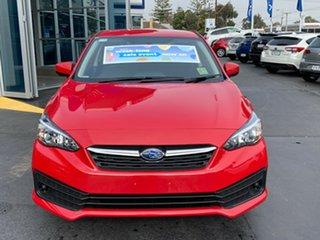 2020 Subaru Impreza G5 MY20 2.0i CVT AWD Pure Red 7 Speed Constant Variable Hatchback.