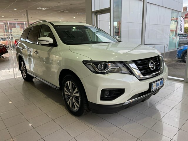 Demo Nissan Pathfinder R52 Series III MY19 ST X-tronic 4WD Launceston, 2019 Nissan Pathfinder R52 Series III MY19 ST X-tronic 4WD Ivory Pearl 1 Speed Constant Variable