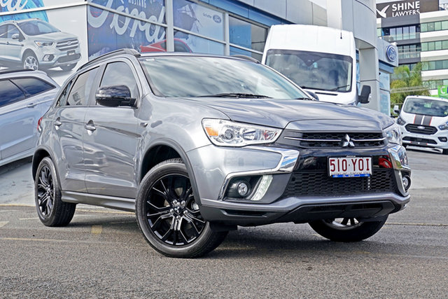 Used Mitsubishi ASX XC MY19 Exceed 2WD, 2018 Mitsubishi ASX XC MY19 Exceed 2WD Grey 1 Speed Constant Variable Wagon