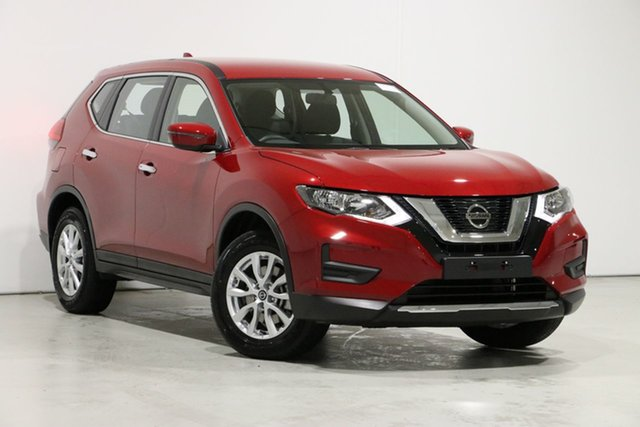 Used Nissan X-Trail T32 Series 2 ST 7 Seat (2WD) (5Yr), 2020 Nissan X-Trail T32 Series 2 ST 7 Seat (2WD) (5Yr) Red Continuous Variable Wagon