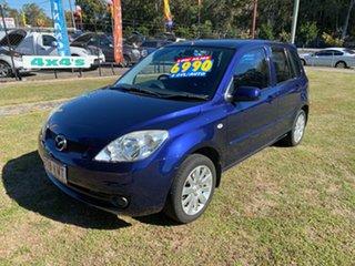 2007 Mazda 2 DY10Y2 Maxx Blue 4 Speed Automatic Hatchback.