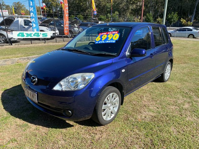 Used Mazda 2 DY10Y2 Maxx, 2007 Mazda 2 DY10Y2 Maxx Blue 4 Speed Automatic Hatchback