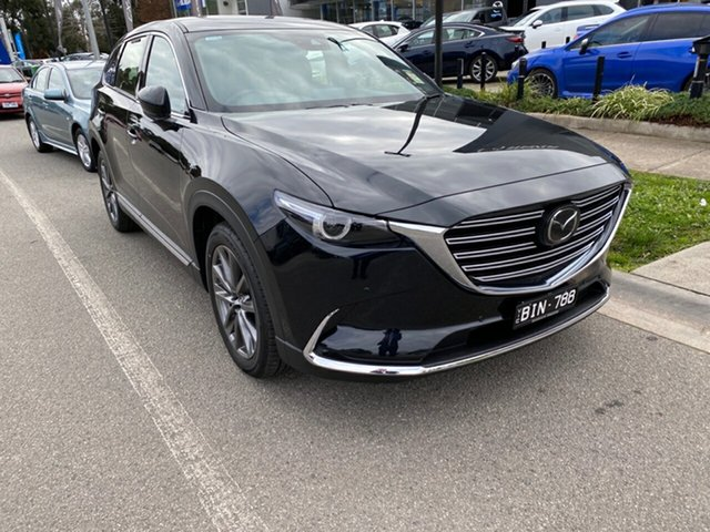 Demo Mazda CX-9 TC Azami SKYACTIV-Drive i-ACTIV AWD, 2020 Mazda CX-9 TC Azami SKYACTIV-Drive i-ACTIV AWD Jet Black 6 Speed Sports Automatic Wagon