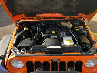 2012 Jeep Wrangler JK MY2012 Unlimited Sport Orange 6 Speed Manual Softtop.