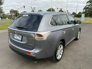 2013 Mitsubishi Outlander ZJ MY13 Aspire 4WD Grey 6 Speed Constant Variable Wagon