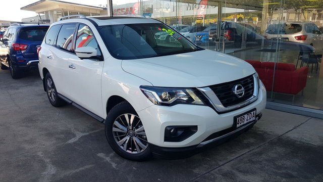 Demo Nissan Pathfinder R52 Series III MY19 ST-L X-tronic 2WD, 2019 Nissan Pathfinder R52 Series III MY19 ST-L X-tronic 2WD Ivory Pearl 1 Speed Constant Variable