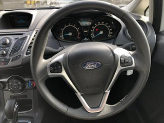2014 Ford Fiesta WZ Ambiente PwrShift White 6 Speed Sports Automatic Dual Clutch Hatchback