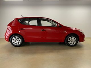 2009 Hyundai i30 FD MY09 SX Red 4 Speed Automatic Hatchback.
