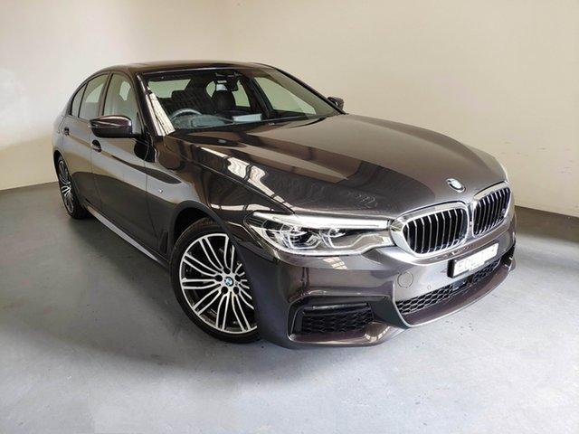 Used BMW 520i G30 M Sport Steptronic, 2019 BMW 520i G30 M Sport Steptronic Sophisto Grey 8 Speed Sports Automatic Sedan