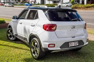2020 Hyundai Venue QX MY20 Elite White 6 Speed Automatic Wagon.