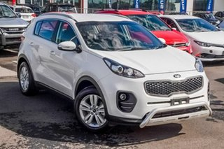 2018 Kia Sportage QL MY18 Si 2WD White 6 Speed Sports Automatic Wagon.