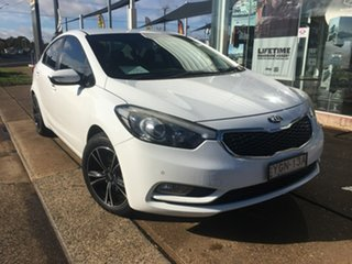 2014 Kia Cerato YD S White Sports Automatic.