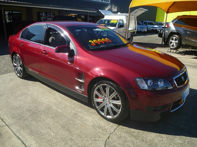Used Holden Special Vehicles Senator E Series Signature, 2007 Holden Special Vehicles Senator E Series Signature Red 6 Speed Automatic Sedan