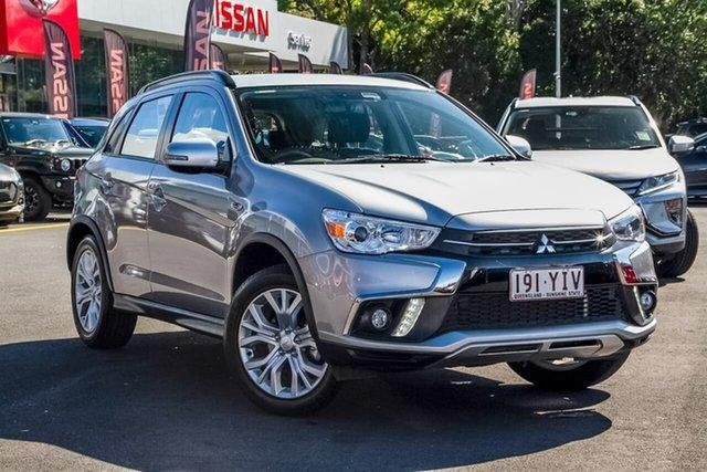 Used Mitsubishi ASX XC MY19 ES 2WD ADAS, 2018 Mitsubishi ASX XC MY19 ES 2WD ADAS Silver 1 Speed Constant Variable Wagon