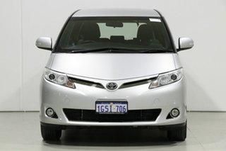 2019 Toyota Tarago ACR50R MY16 GLi Silver 7 Speed CVT Auto Sequential Wagon.