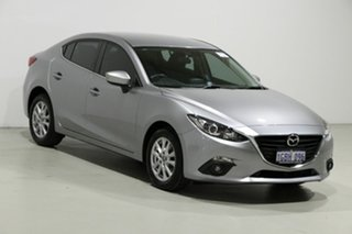 2016 Mazda 3 BM MY15 Maxx Silver 6 Speed Automatic Sedan
