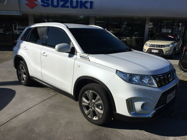 Used Suzuki Vitara LY Series II 2WD, 2020 Suzuki Vitara LY Series II 2WD White 6 Speed Sports Automatic Wagon