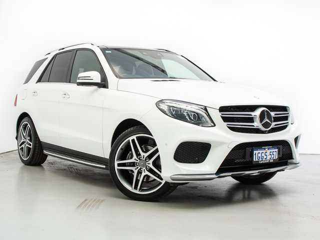 Used Mercedes-Benz GLE350d 4Matic 166 MY17 , 2017 Mercedes-Benz GLE350d 4Matic 166 MY17 White 9 Speed Automatic Wagon