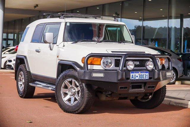 Used Toyota FJ Cruiser GSJ15R MY14 , 2014 Toyota FJ Cruiser GSJ15R MY14 White 5 Speed Automatic Wagon