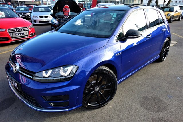 Used Volkswagen Golf VII MY16 R DSG 4MOTION Wolfsburg Edition Seaford, 2015 Volkswagen Golf VII MY16 R DSG 4MOTION Wolfsburg Edition Blue 6 Speed