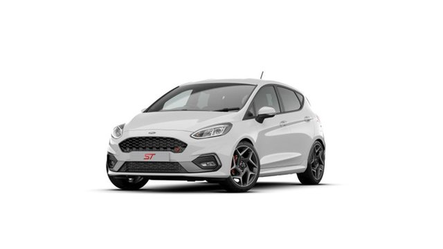New Ford Fiesta WG 2020.75MY ST Newstead, 2020 Ford Fiesta WG 2020.75MY ST Frozen White 6 Speed Manual Hatchback
