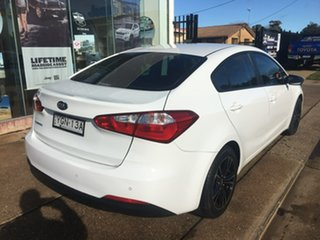 2014 Kia Cerato YD S White Sports Automatic