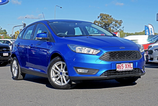 Used Ford Focus LZ Trend, 2016 Ford Focus LZ Trend Blue 6 Speed Manual Hatchback