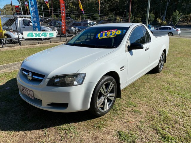Used Holden Ute VE II Omega, 2010 Holden Ute VE II Omega White 6 Speed Sports Automatic Utility