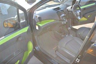 2013 Holden Barina Spark MJ MY13 CD Black 4 Speed Automatic Hatchback