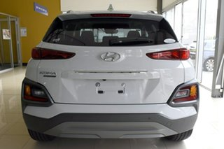2020 Hyundai Kona OS.3 MY20 Highlander S.Roof (AWD) Chalk White 7 Speed Auto Dual Clutch Wagon