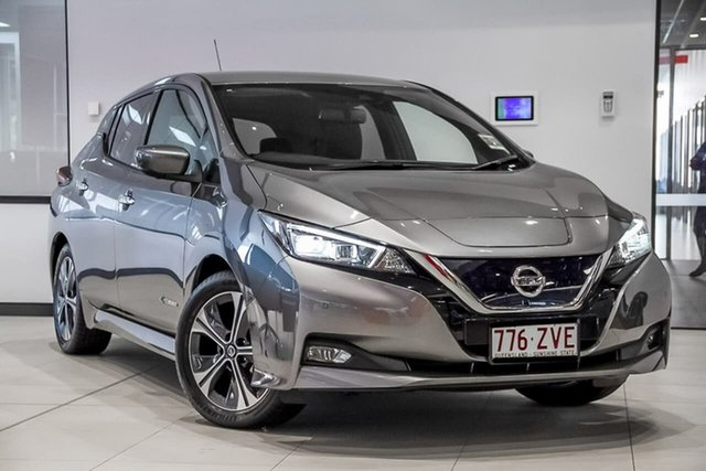 Demo Nissan Leaf ZE1 , 2019 Nissan Leaf ZE1 Gun Metallic 1 Speed Reduction Gear Hatchback