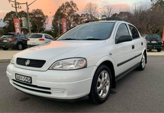 2005 Holden Astra TS Classic White 4 Speed Automatic Sedan.