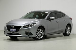 2016 Mazda 3 BM MY15 Maxx Silver 6 Speed Automatic Sedan.