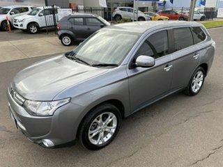 2013 Mitsubishi Outlander ZJ MY13 Aspire 4WD Grey 6 Speed Constant Variable Wagon