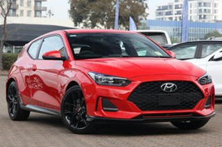 2019 Hyundai Veloster JS MY20 Turbo Coupe D-CT White 7 Speed Sports Automatic Dual Clutch Hatchback.