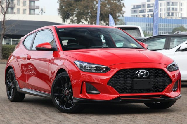 New Hyundai Veloster JS MY20 Turbo Coupe D-CT, 2019 Hyundai Veloster JS MY20 Turbo Coupe D-CT Mfr 7 Speed Sports Automatic Dual Clutch Hatchback