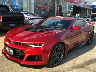 2020 Chevrolet Camaro MY20 ZL1 Burgundy 10 Speed Sports Automatic Coupe.