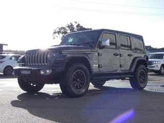 2018 Jeep Wrangler JL MY19 Unlimited Overland Grey 8 Speed Automatic Hardtop.