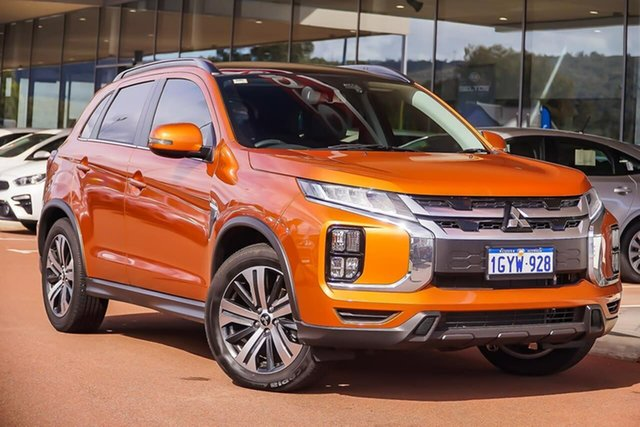 Used Mitsubishi ASX XD MY20 Exceed 2WD, 2019 Mitsubishi ASX XD MY20 Exceed 2WD Orange 1 Speed Constant Variable Wagon