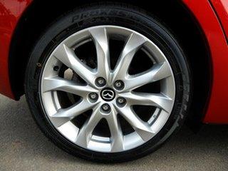 2016 Mazda 3 BM5436 SP25 SKYACTIV-MT Red 6 Speed Manual Hatchback