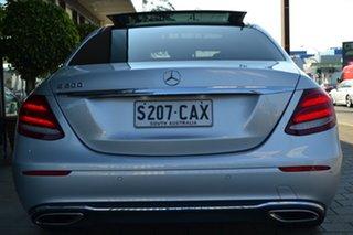2016 Mercedes-Benz E-Class W213 E200 9G-Tronic PLUS Silver Metallic 9 Speed Sports Automatic Sedan