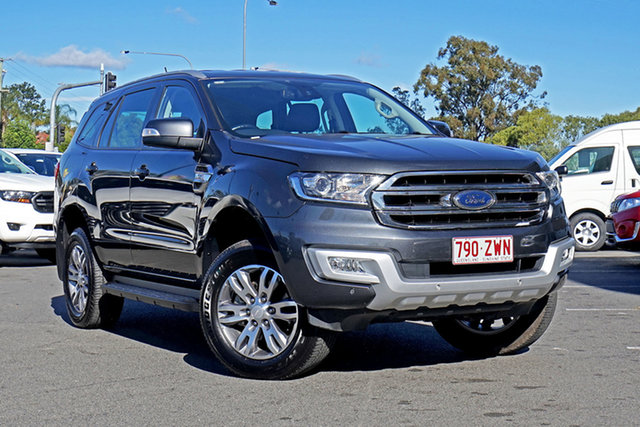 Used Ford Everest UA Trend 4WD, 2017 Ford Everest UA Trend 4WD Grey 6 Speed Sports Automatic Wagon