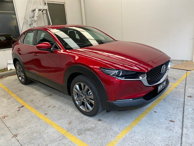 Demo Mazda CX-30 DM2W7A G20 SKYACTIV-Drive Astina, 2020 Mazda CX-30 DM2W7A G20 SKYACTIV-Drive Astina Soul Red Crystal 6 Speed Sports Automatic Wagon