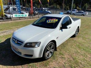 2010 Holden Ute VE II Omega White 6 Speed Sports Automatic Utility.