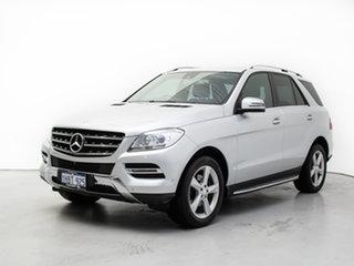 2013 Mercedes-Benz ML250 CDI BlueTEC 166 4x4 Silver 7 Speed Automatic Wagon.