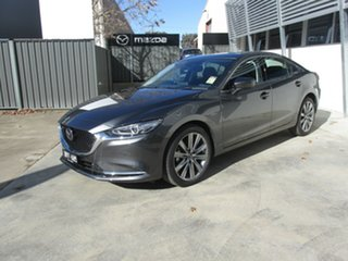 2019 Mazda 6 GL1033 GT SKYACTIV-Drive Grey 6 Speed Sports Automatic Sedan.