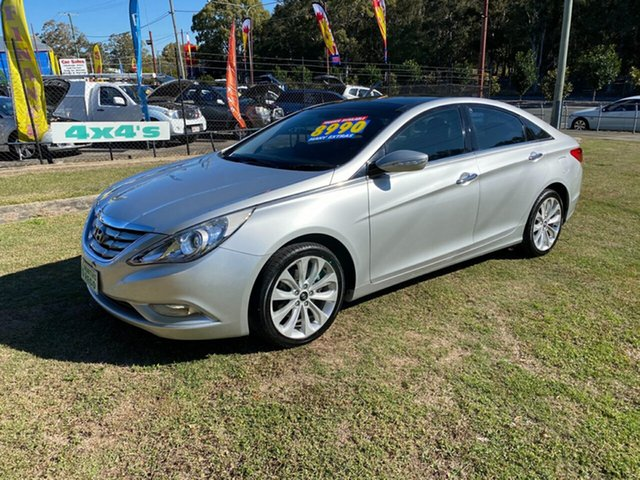 Used Hyundai i45 YF MY11 Elite, 2011 Hyundai i45 YF MY11 Elite Silver 6 Speed Sports Automatic Sedan