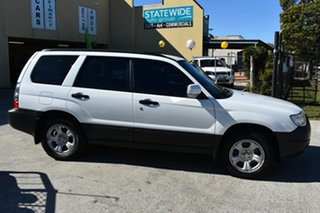 2005 Subaru Forester MY05 X White 4 Speed Automatic Wagon