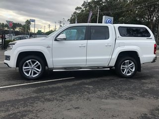 2015 Volkswagen Amarok 2H MY16 TDI420 4Motion Perm Ultimate White 8 Speed Automatic Utility