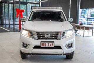 2020 Nissan Navara D23 S4 MY20 RX King Cab 4x2 Polar White 6 Speed Manual Cab Chassis.